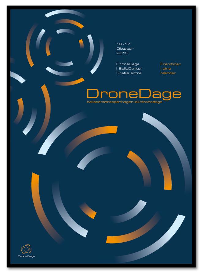 philip johansen dronedage plakat